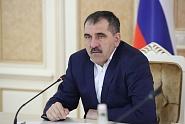 Ю. Евкуров обсудил с главой Минпромторга РФ закупки коммунальной техники для региона
